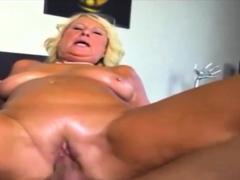 Creampie amateur norwegian granny