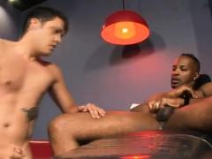 Homosexuelle, Interracial, Masturbation