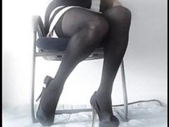 Lola, French Crossdresser. Dildos, Underwear And Cum