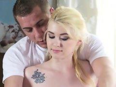 Blonde Chick Misha Cross Enjoys A Sensual Massage