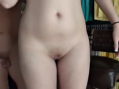 Blondie girl gets fucked by uncle cachas