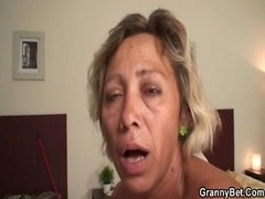 Cleaning lady fucked by young and fresh hunk