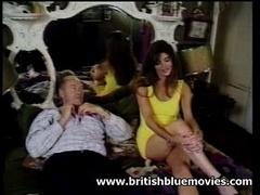 British retro xxx movie star Hayley Russell hardcore