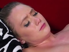 A hot blonde that loves anal sex is getting filled up really nicely