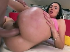 Young and cute Marley Brinx fucked in her slutty ass