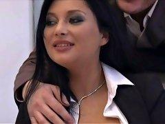 Slutwife Marion gang banged by plenty of guys again