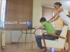 I shooted this mind-blowing movie with makinglove with my girlfriend in office
