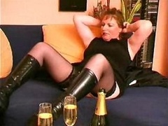 Grown-up hooker takes a leak and additionally gets her tight crack fingered