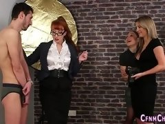 cfnm babes tugging dick british