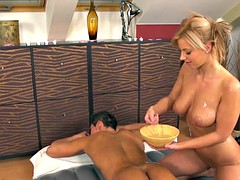hot slippery nuru massage sex