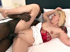 Granny wants black cock in her pussy suck black man cock