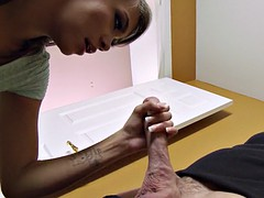 cassidy banks decided to suck the burglar's monstrous dick
