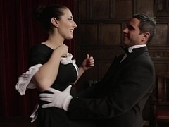 Fleur Distracts The Butler