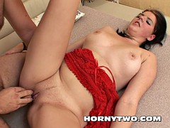 Chubby fat pussy brown haired in need for good fucking and