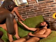 Carla's Nasty Interracial Double Penetration Threesome
