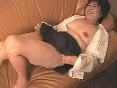 grown-up japanese ladie playing