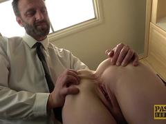 Rough anal sex is the favorite kind of sex for Sexy Cleo