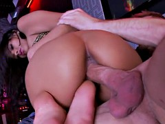 Footfetish euro babe gets her ass rimmed