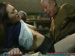 日本人, 淫乱熟女, 母