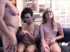 Hot Group of Shemales go Live