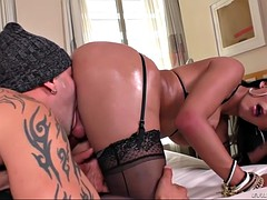 ts deborah mastronelly gets her cock sucked and ass banged by a guy