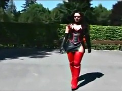 Sexy ladys in Latex and Leather !