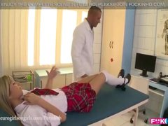 GINA GERSON GETS HER TIGHT ARSE FUCKED DRESSED AS SCHOOL GIRL