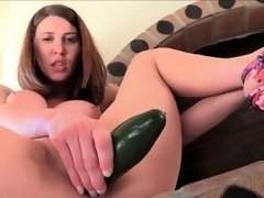 Girls porn Amber huge braless firm breasts clit fingering