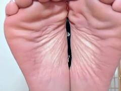 German mistress feet dirty talk