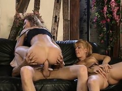 Wild Anal Threesome