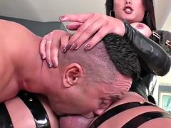 gabriel alessandro gets her juicy ass fucked by tranny bianka nascimentos