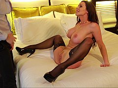 Hotel adventures with busty mom