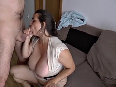 Belle grosse femme bgf, Allemand, Hard, Nénés