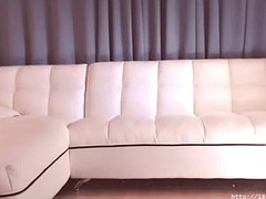 korean bj in white stockings