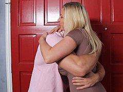 Gros seins, Blonde, Sucer une bite, Hard, Femme au foyer, Mère que j'aimerais baiser, Maman, Fils