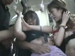 A pair of Hot Teens fucked in Bus Element 2