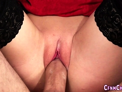 Femdom babe gets pounded