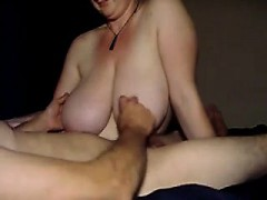 Cum on my spouse huge breasts