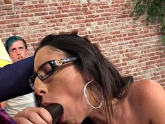 A BBC For HotWife Dava Foxx While Cuckold Watching