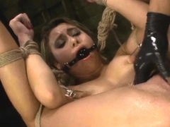 Keep Crying Bitch You Are Tied Up And Helpless