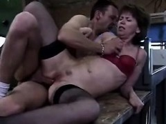 Ruthless sex for french mommy Allyson from 1fuckdatecom