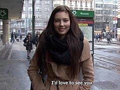 18 años, Checa, Europeo, Dinero, Pov, Coño, Realidad, Adolescente
