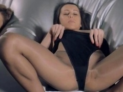 ladies in pantyhose fucking with strap on