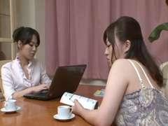 Japanese Lesbian Gokuraku 1c