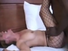 Slut Wife Fucks BBC And Cuck Hubby Cleans Up