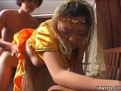 Little precious Asian princess pounded by her prince