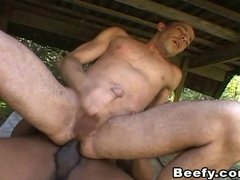 Two Hunk Beefy Went on Hiking and Have Sex