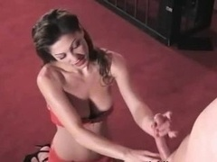 Lili the Female domination Dominatrix Handjob