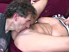 Alia Janine Mature Big Tits Hardcore Fuck And Facial