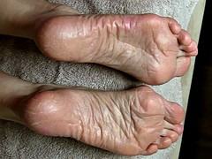 More SPERM Therapy for Lyn's Dry Feet - Part 4